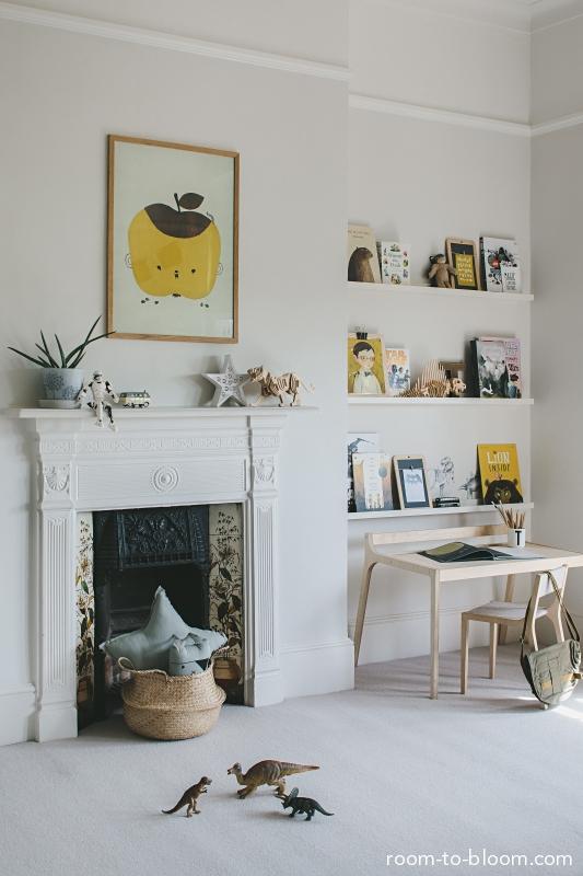 Childrens bedroom interior design portfolio Room to Bloom