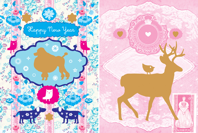 POPJE New Year Cards