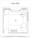 distance design floor plan