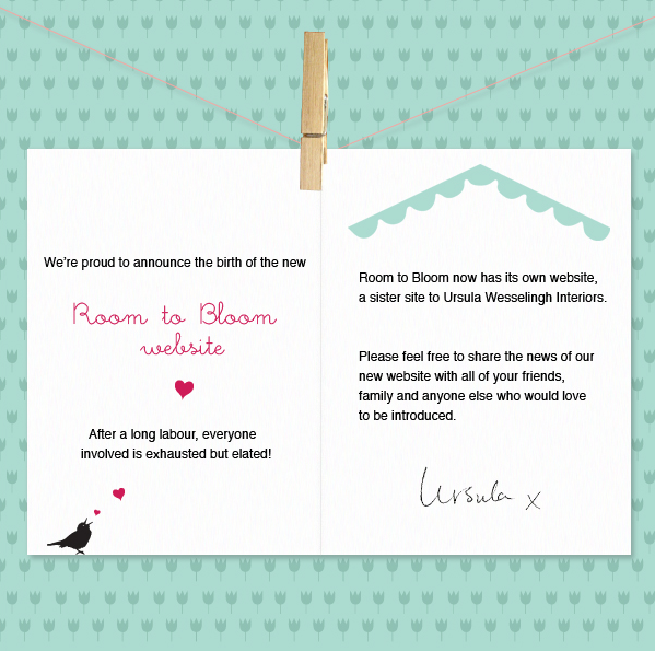 room to bloom new website