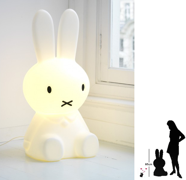Miffy Night Light For A Nursery Room To Bloom