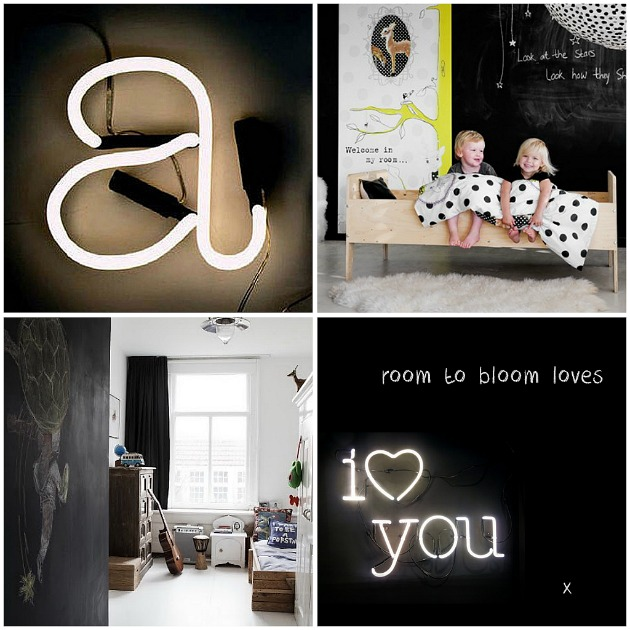 Seletti Neon Letters Kids Rooms