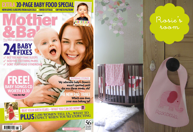 Mother and baby magazine march 2014