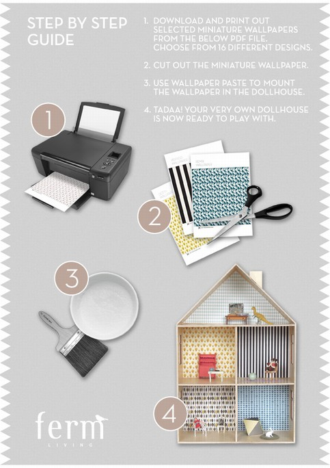 ferm living wallpaper download instructions