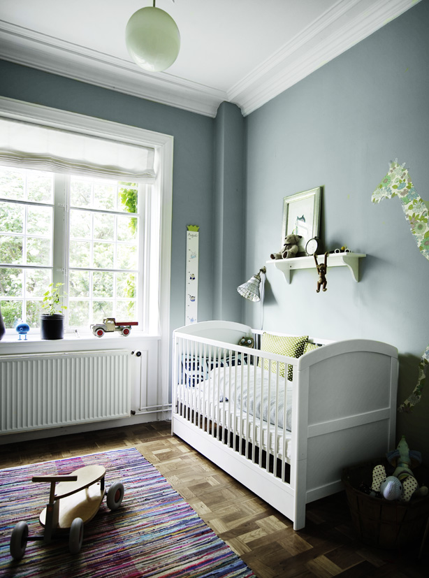 nursery ideas: using grey in a baby room