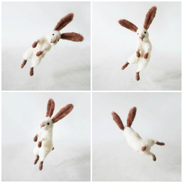jumping bunny rabbit sir hopsalot forestblue factory