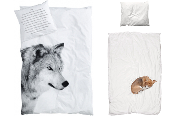 kids bedding with animal prints from by nord and snurk bedding