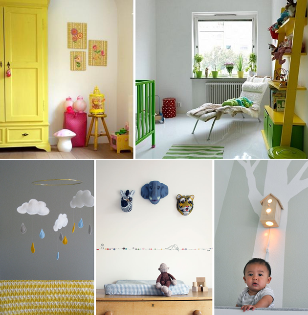 yellow nursery inspiration