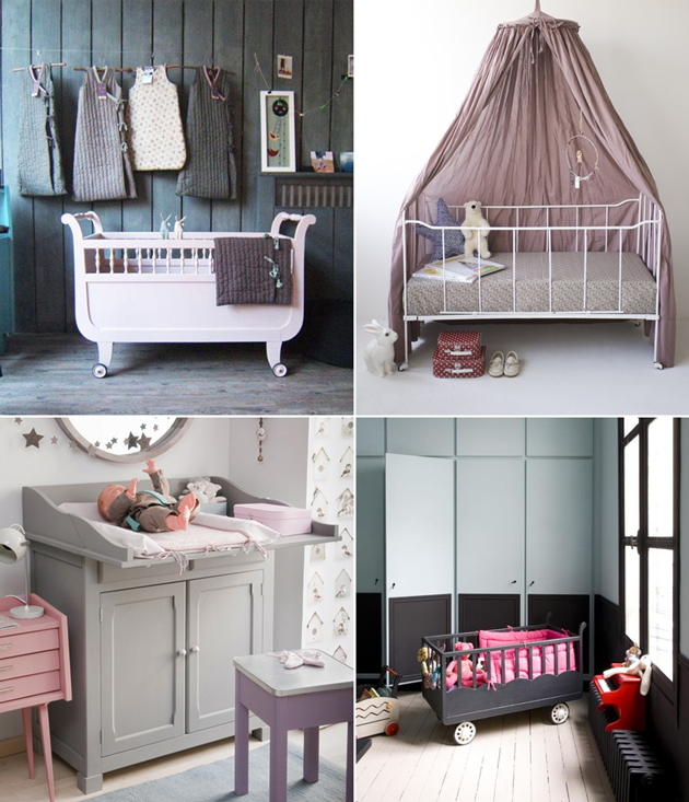 modern french nursery interiors