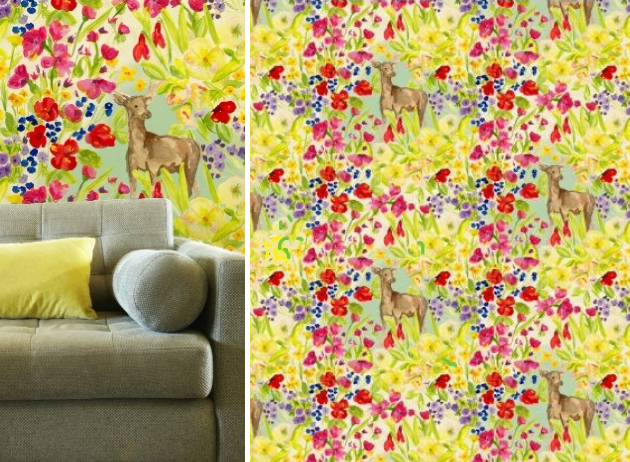 garden deer wallpaper zoe barker at from the wild
