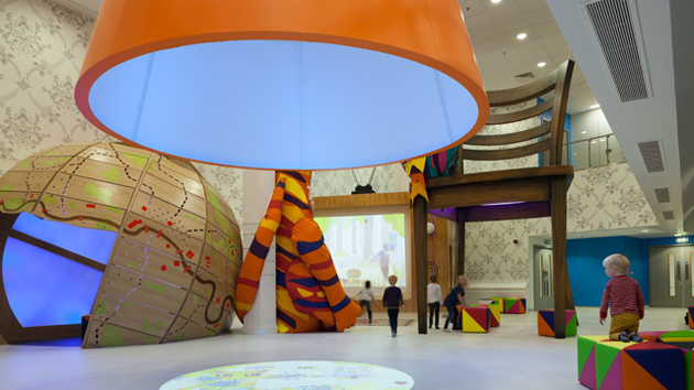 Royal London Hospital kids play space