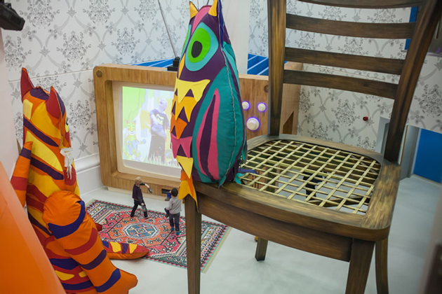 The Royal London Hospital Play Space Room To Bloom