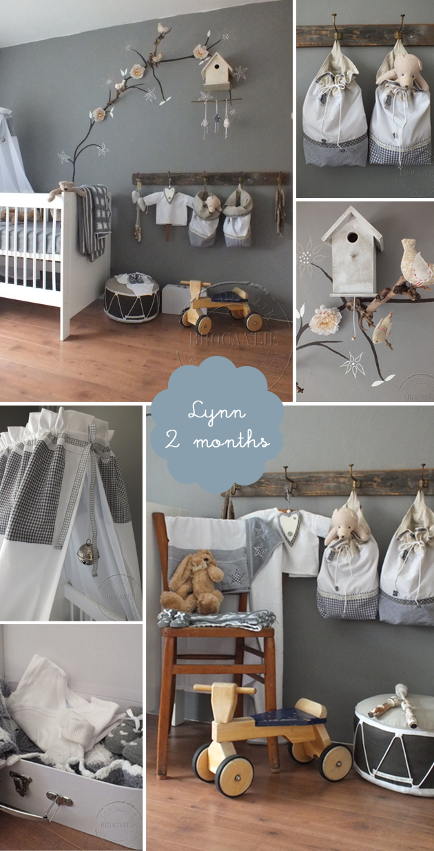 Romantic Vintage Nursery For A Baby Girl Lynn Room To Bloom