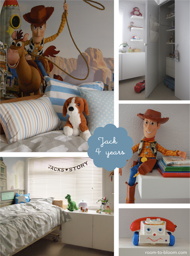 toy story themed bedroom for jack