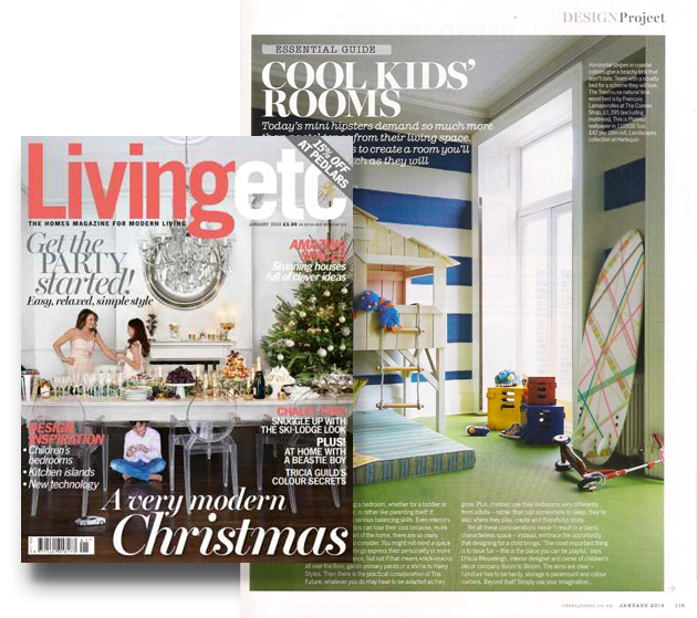 LivingEtc cool kids rooms design