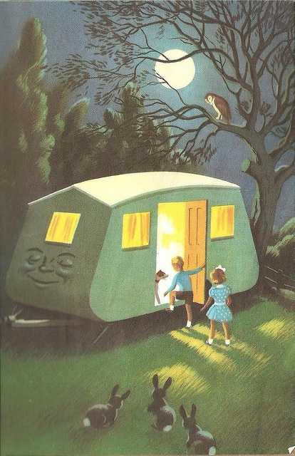 co-co the caravan ladybird books