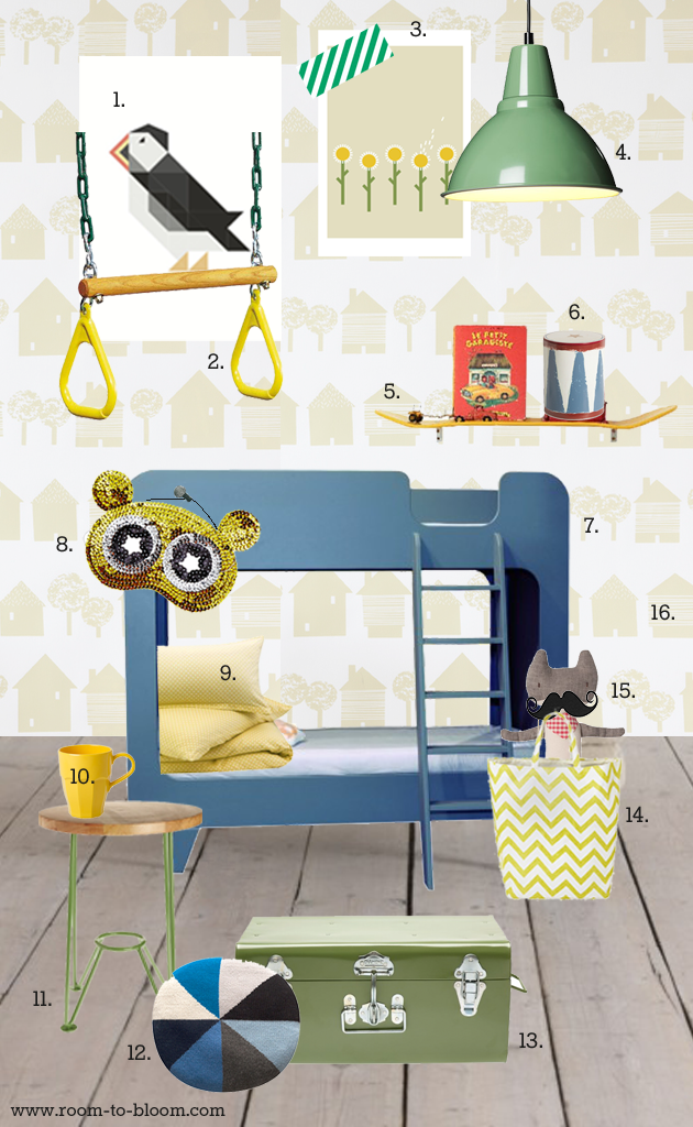 kids room spring redecorate