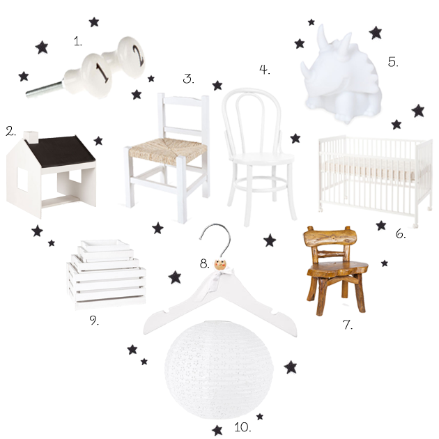 monochrome children's room zara kids home