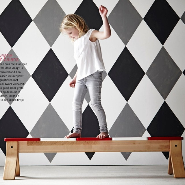 Love the limited editions for kids' rooms by #ikea! Styled by Cleo Scheulderman @vtwonen ❤ #kidsinteriordesign