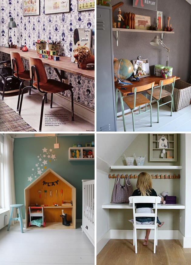 childrens desks interiors