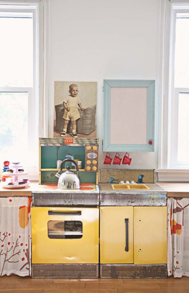 vintage play kitchen toy kitchen