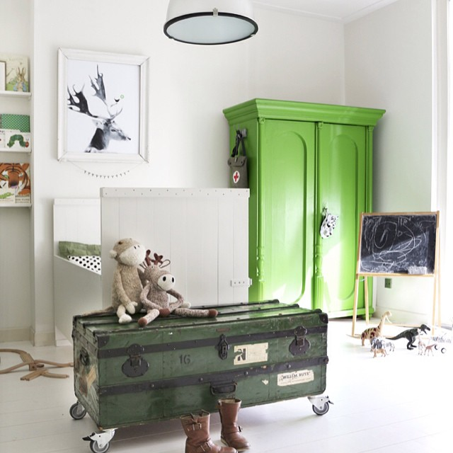Gorgeous boy's room by @mydeernl on the blog today ?