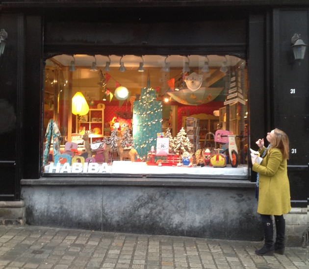 kids decor shop front habiba brussels