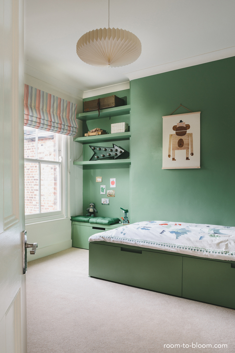Childrens Interior Design Green Boys Bedroom