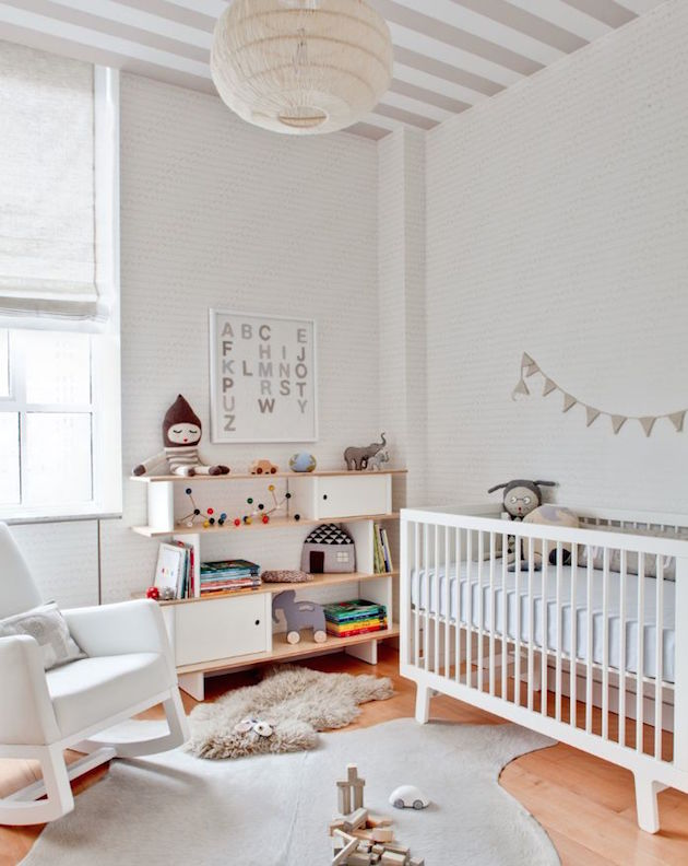 gender neutral nursery decorating