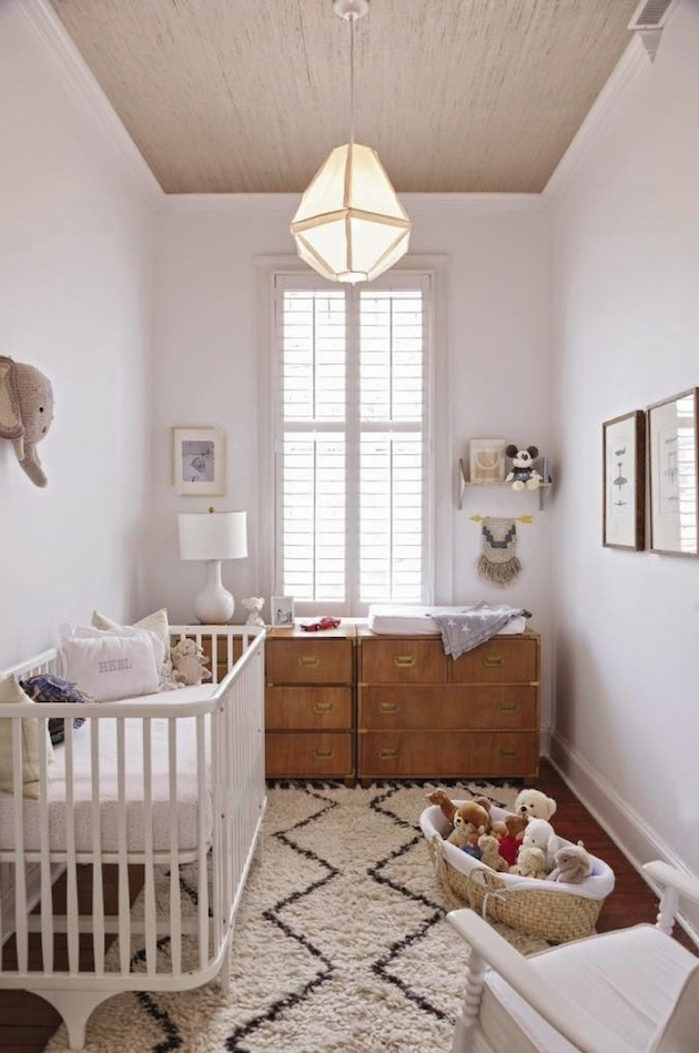 gender neutral nursery interior design morroccan rug