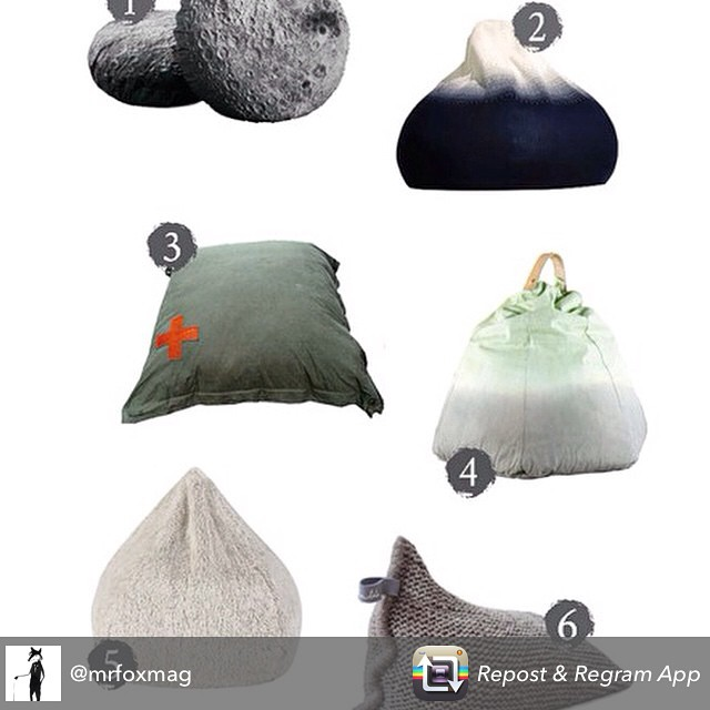 Check out my edit of the best bean bags over at Mr Fox magazine @mrfoxmag for some seriously stylish slouching :-)