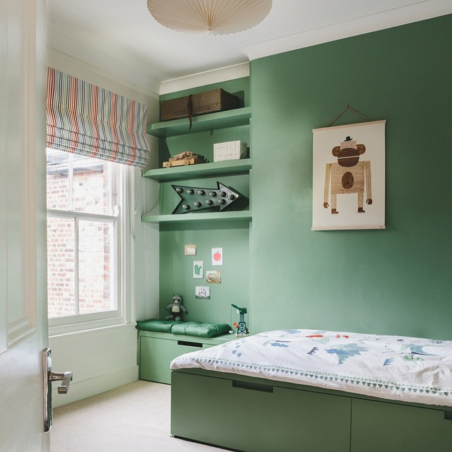 A new bedroom for Dylan with Monkey from @walnut&walrus... More photos on the blog! #kidsinteriordesign