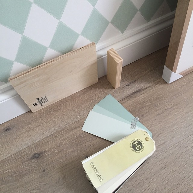 Sneak peek at Florence's room... Another project progressing nicely ? #kidsinteriordesign #kidsinteriors