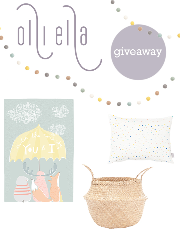 olli & ella kids decor giveaway