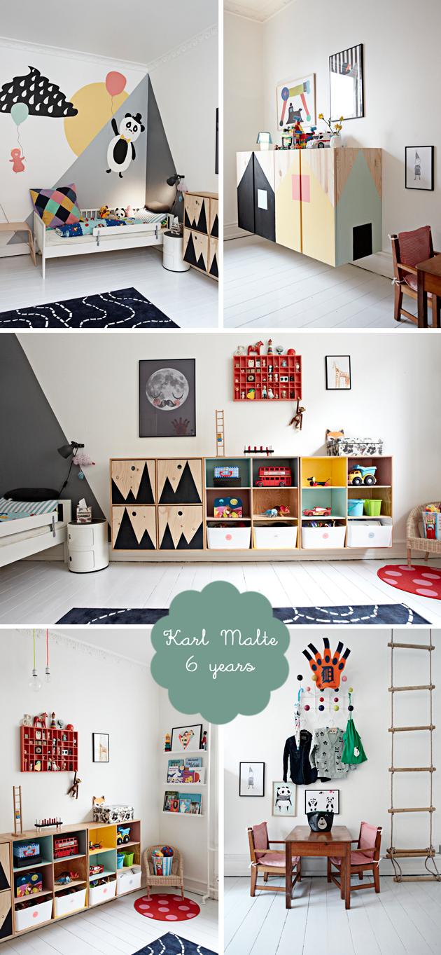 Danish boys bedroom karl malte room to bloom for Scandinavian childrens bedroom