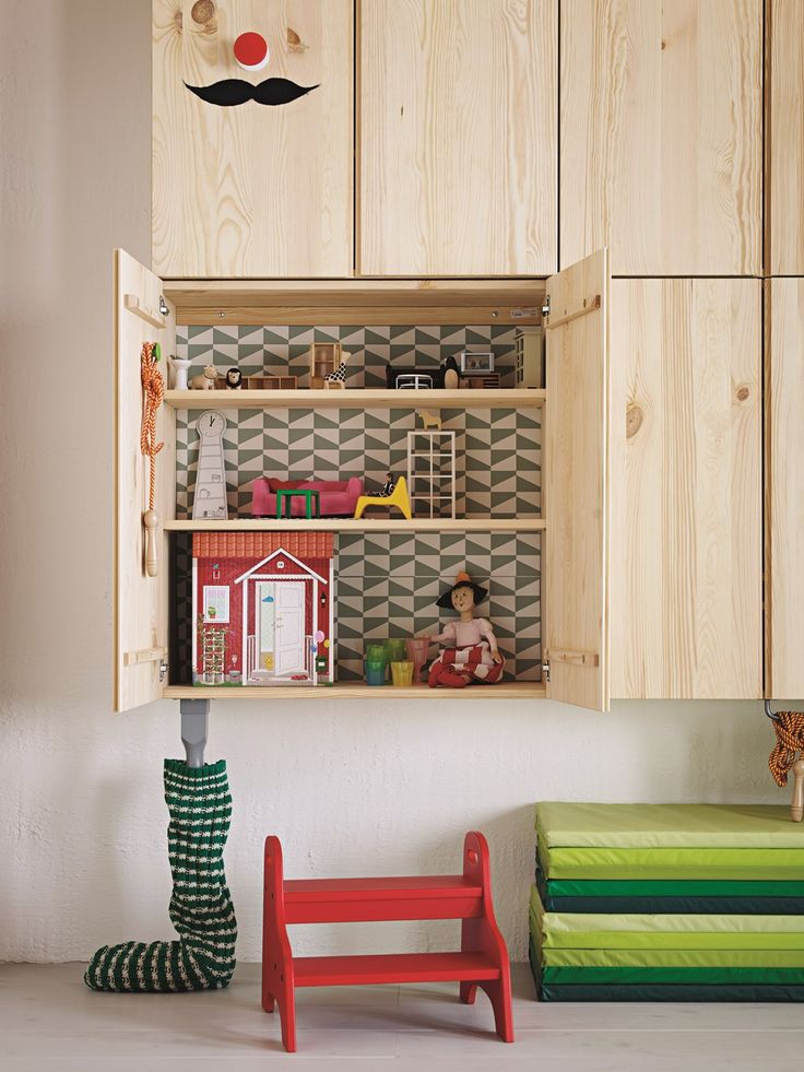 ikea ivar pine storage units