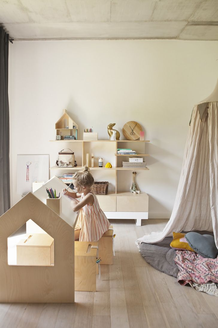 Kutikai birch plywood childrens furniture