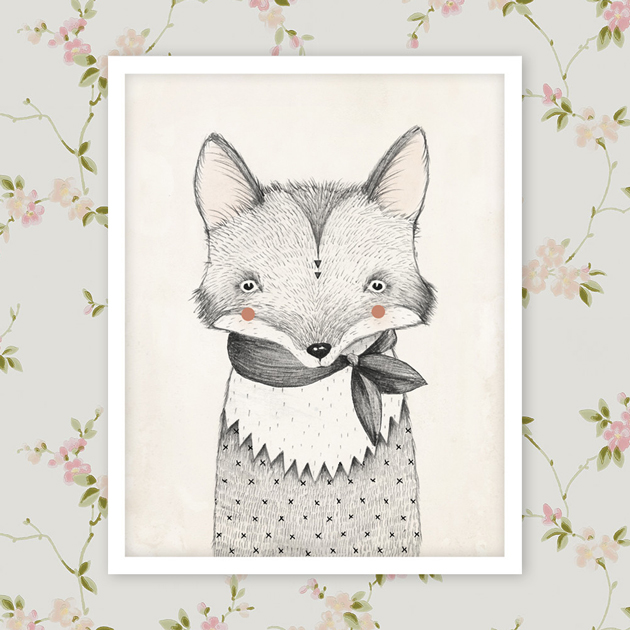 art prints for kids rooms rylee cru - Prints For Kids