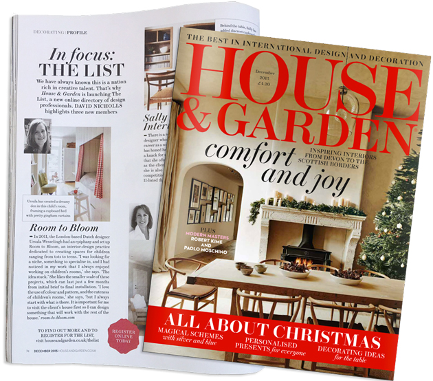 House & Garden December 2015 In focus The List