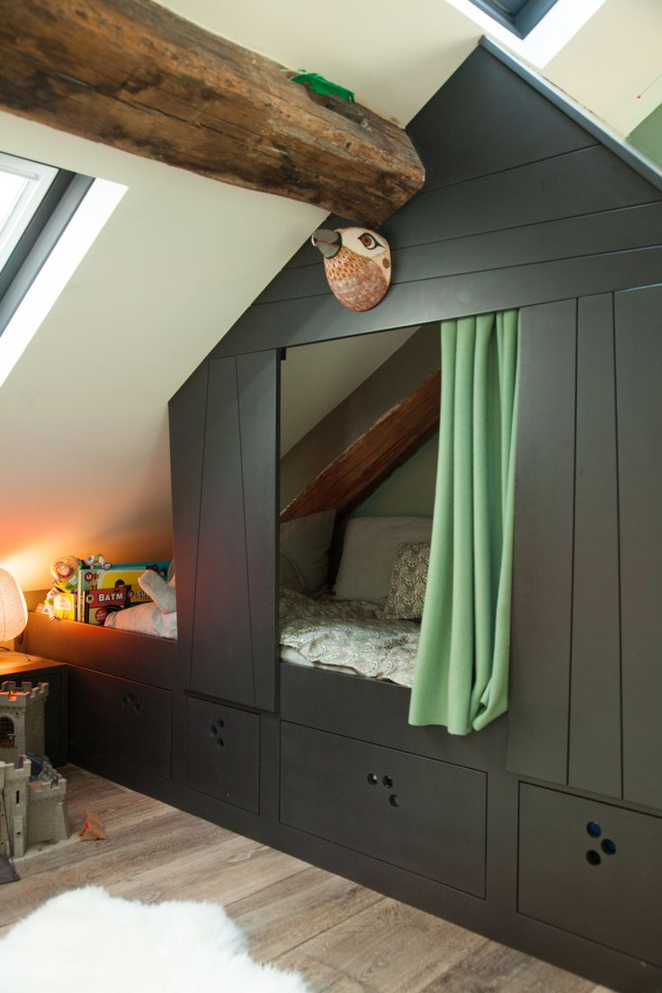 house shaped cabin bed kids room