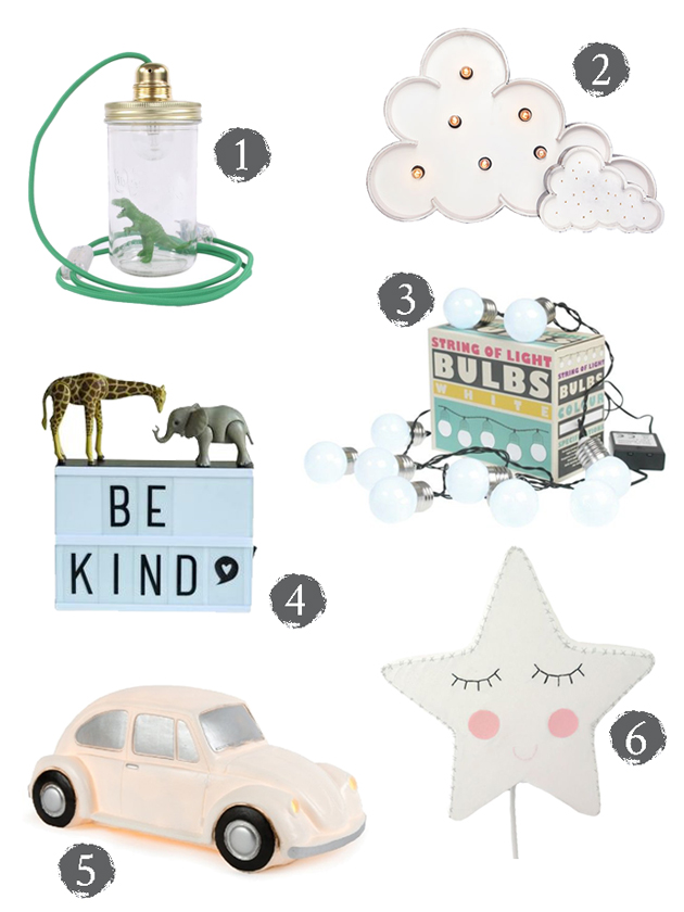 Mr Fox: Best Nightlights And Lamps For Kids Rooms