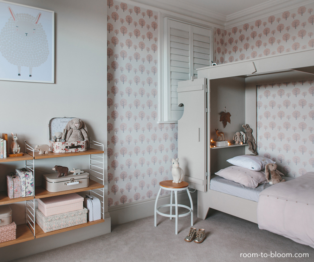 grey girls bedroom interior design charlotte_8