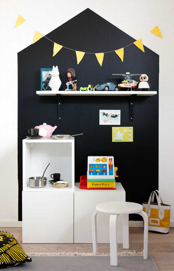 blackboard chalkboard wall kids room 2a