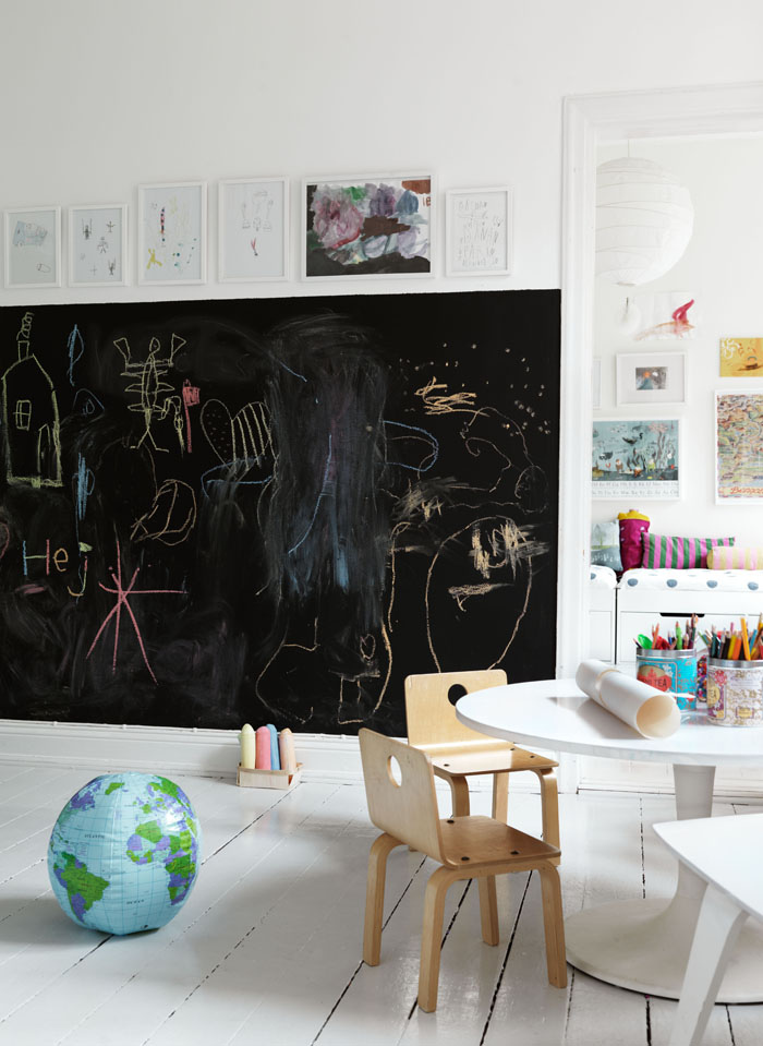 blackboard chalkboard wall kids room 5