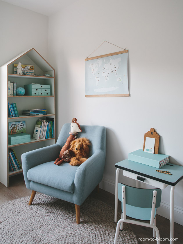 childrens interior design scandinavian mint and blue girls room florence 2