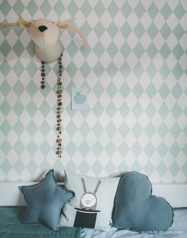 childrens interior design scandinavian mint and blue girls room florence 4