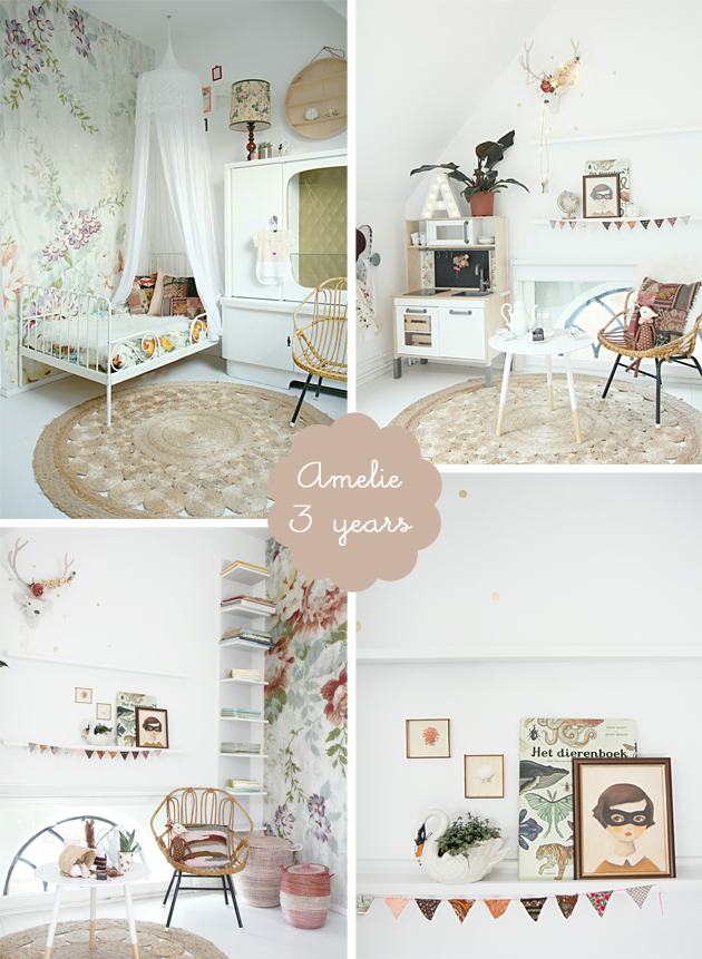 romantic boho girls bedroom amelie
