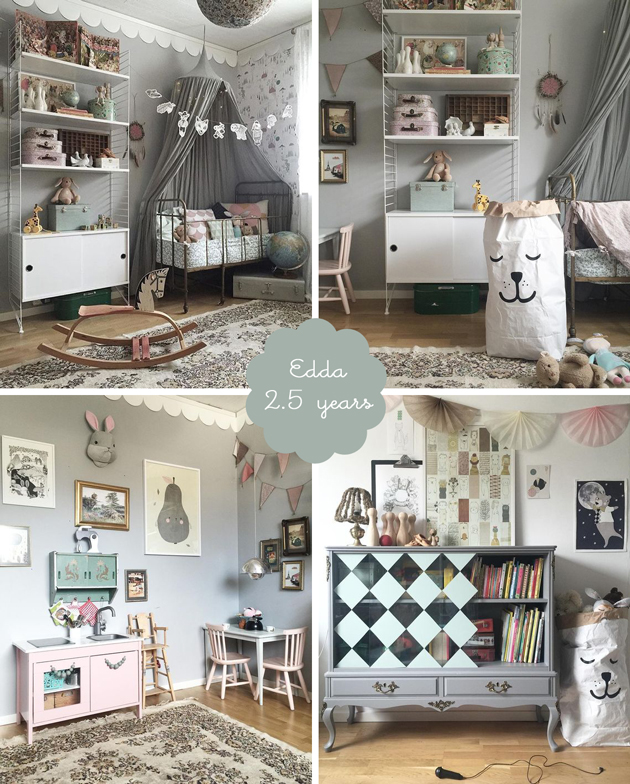 boho soft vintage girls bedroom