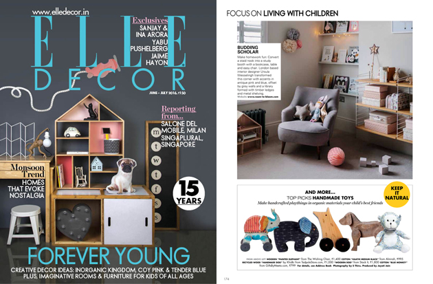 elle decor childrens interior design