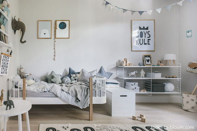 Shelter Toddler Bed